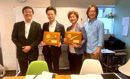 ありがとうございます。早水次期会長・久保田次期幹事、どうぞ宜しくお願い致します。