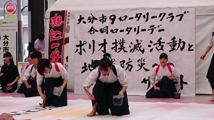 様々なステージイベントが催されました。