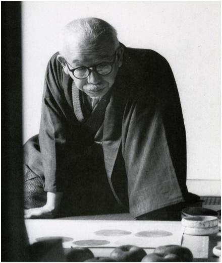 図-14  福田平八郎肖像