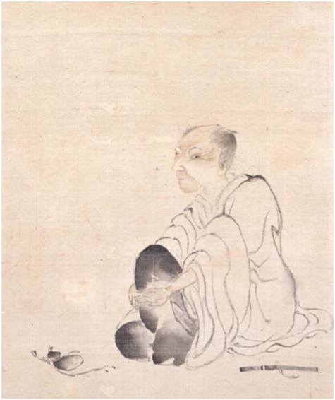 図―5 田能村竹田肖像