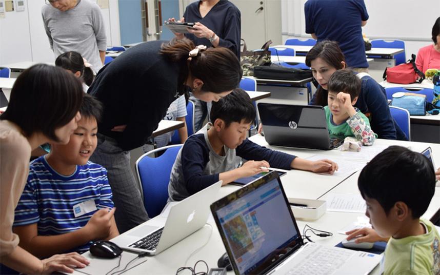 2016年5月5日にはじめて開催したプログラミング体験教室