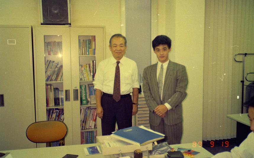 小田創業社長と出会った頃(23歳)