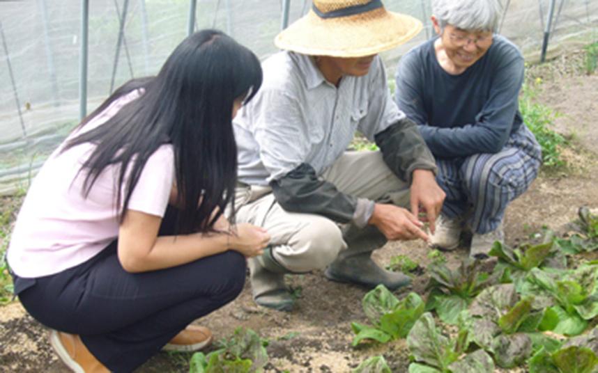 有機農産物生産者のお話はとても勉強になります。